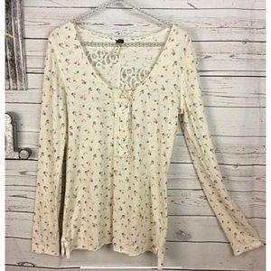 We the free by free people floral print T-…